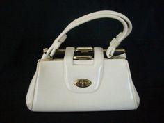 Vintage 1950 Cream Colored Purse