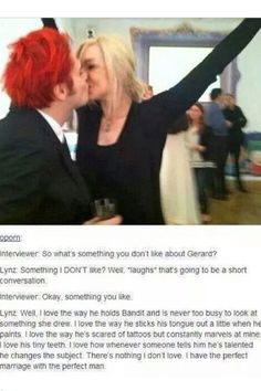 This just melt my heart little by little with every word :) Gerard and LinZ Way