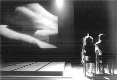 Hiroshima Mon Amour - regie: Guy Cassiers 1996 - Een van de eerste keren dat ik video in het theater echt zag worden toegepast. En mooi samenspel van Catherine ten Bruggencate en Herman Gilis.
