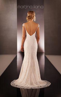 Cap Sleeve Wedding Dress | Wedding Dresses | Martina Liana                                                                                                                                                     More