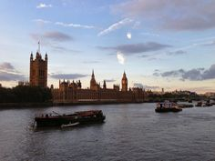 Dusky Houses of Parliament #London
