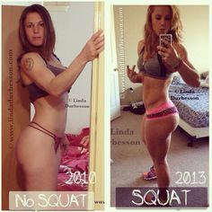 The difference squats make..