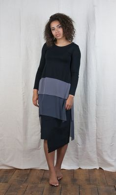 Xenia Design Tiered Tunic Dress http://www.bluewomensclothing.co.uk/collections/xenia-design/products/xenia-design-cowl-neck-pegged-dress-navy