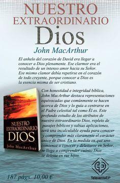 Nuestro extraordinario Dios John MacArthur  El anhelo del corazón de David era llegar a conocer a Dios plenamente. Ese clarmor era el resultado de un intenso amor hacia su Señor. Ese mismo clamor debía repetirse en el corazón de todo creyente, porque conocer a Dios es la esencia misma de ser cristiano.
