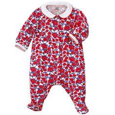 Petit Bateau Baby Boys Berny Sleepsuit