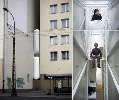 The Narrowest House In The World In Warsaw, Poland