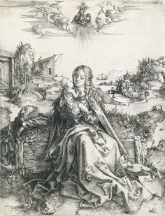 The Holy Family with the Dragonfly by Albrecht Durer.jpg