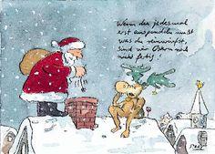 peter gaymann postkarte schmei handy rein weihnachten. Black Bedroom Furniture Sets. Home Design Ideas