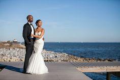 "[Me & my Groom] Wedding day feature by Munaluchi Bridal Magazine: ""Fun and Classy Beachfront Wedding in Pensacola, Florida"" #munaluchibride #bride #wedding"