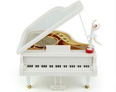Caixa de música de Piano Ballet dancing girl Home Decor Musicbox Rotate caixa musical para o miúdo meninas mulheres presente de Natal em Caixas de música de Home & Garden no AliExpress.com   Alibaba Group