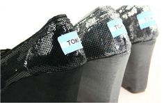 fresh and ready for your feet,TOMS shoes,god...SAVE 48% OFF! this is the best! | See more about black sequins, tom wedges and tom shoes.
