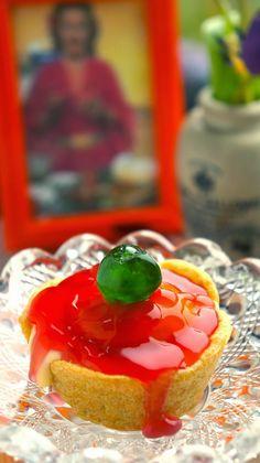 Choux Pastry Peach Tartlet