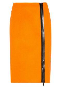 Michael Kors Collection - Jupe crayon - orange