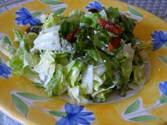Outback's Chopped Blue Cheese Salad recipe from Food.com  got five stars, so I'm going to try this....