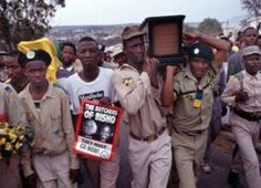 """""""Still remember the Bisho massacre? Funeral, South Africa, African, History, Historia"""