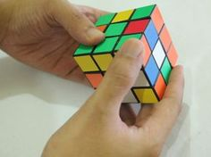 How to Solve a Rubik's Cube (Easy Move Notation)