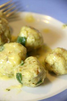 Gnocchi, Ravioli, Pasta Alla Carbonara, Tempura, Biscotti, Dumplings, Pulled Pork, Chocolate Chip Cookies, Pesto