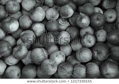 Black White Apples Texture: stock fotografie (k okamžité úpravě) 1217330155 Daily Photo, Apples, Black And White, Drink, Image, Food, Black White, Blanco Y Negro, Soda