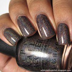 Opi Nail Colors, Pedicure Colors, Manicure Y Pedicure, Fall Pedicure, Pedicures, Pedicure Ideas, Winter Nail Colors, Fancy Nails, Cute Nails