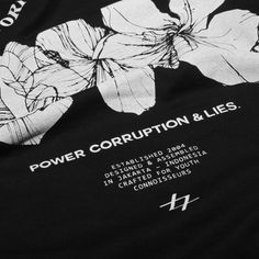 Get your almost sold out POWER, CORRUPTION & LIES graphic tees | IDR 120000