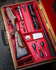 Westley Richards 9.3 x 62 in Case