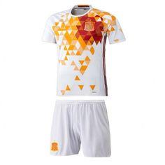 Camisetas del Espana para Niños Home 2016 - Camisetas de Futbol Baratas 3223d6d0a274a