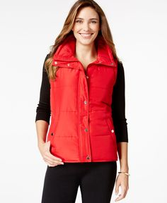 Style&Co. Sport Sleeveless Vest, Only at Macy's