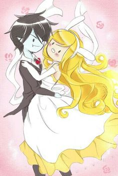 Fionna the Human and Marshall Lee the Vampire King | Adventure Time with Fionna and Cake