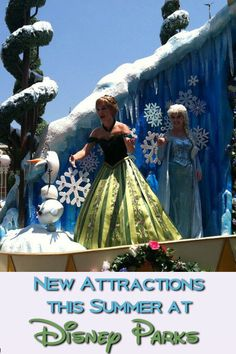 Summer has brought many new attractions to Walt Disney World in 2016. Find out all about the latest additions like the Frozen ride in Epcot, the newest Star Wars fireworks in Hollywood Studios, and more.