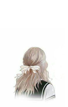 Cute art drawings sketches hair 21 ideas for 2019 Anime Art Girl, Manga Art, Anime Girls, Cute Wallpapers, Wallpaper Backgrounds, Tmblr Girl, Anime Kunst, Girl Wallpaper, Soft Wallpaper