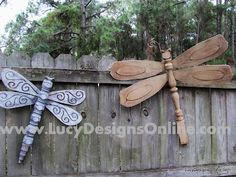 dragonfly table leg craft