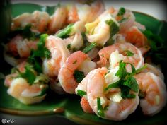 Garlicky Marinated Shrimp with Jalepeno Cocktail Sauce - Kitchen Meets Girl Low Carb Chicken Casserole, Casserole Recipes, Seafood Pasta Recipes, Seafood Dishes, Asian Recipes, Ethnic Recipes, Yummy Recipes, Yummy Food, Cocktail Sauce