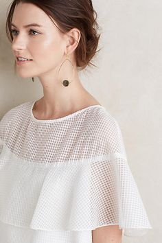 Lace Canopy Blouse - anthropologie.com