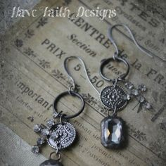 PicsArt_1395881232175 Rugged Cross Earrings $26 .... gorgeous!