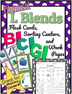 Practice L Blends with this L Blend phonics pack from Kinspiration. Includes everything you need to teach L Blends from start to finish. L Blends, Phonics Flashcards, Phonics Blends, Phonics Lessons, Spelling, Curriculum, Literacy, How To Become, Classroom