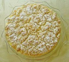 Apfelkuchen mit Vanillecreme und Streuseln 7