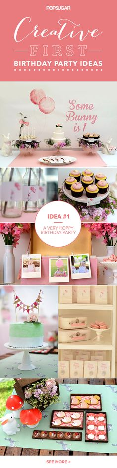 Its Party Time 43 Creative First Birthday Ideas