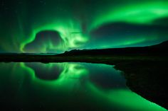 see the Northen Lights in Skaftafell National Park Iceland Photo by Raymond Hoffman
