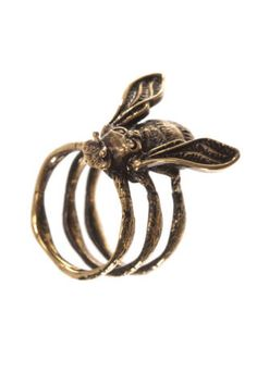 alexander mcqueen   bee ring  spring / summer 2013