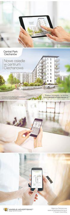 Strona internetowa dla developera wraz z całą oprawa graficzną w postaci wizualizacji budynków oraz kampanii reklamowej w sieci i outdoorze. #stronainternetowa #developer #reklama #marketing