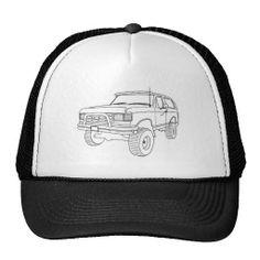 Ford Bronco Trucker Hat