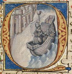 Antonius in Middeleeuwse Handschriften