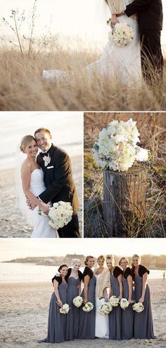 Winter Wedding in Newport.