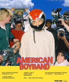 Brockhampton  American Boyband Graphic Design Posters, Graphic Design Inspiration, Kevin Abstract, A4 Poster, Retro Aesthetic, My Guy, Picture Wall, Wall Collage, Aesthetic Wallpapers