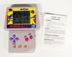 Vintage handheld Video Game-Pinball-Pinball-90