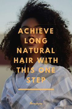 Tired of your natural hair shrinkage? Do you want to show off your long, natural hair? It's possible with these tips and tricks! Natural Hair Growth Tips, Natural Hair Types, How To Grow Natural Hair, Long Natural Hair, Natural Women, Natural Beauty, Fancy Hairstyles, Curly Hairstyle, Fine Hair Bangs