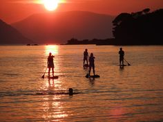 Sunset tour, Skopelos, Greece