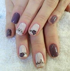 >>Click the link for more info short acrylic nails. Check the webpage to learn more~~ The web presence is worth checking out. Cute Nail Art, Cute Nails, My Nails, Nail Swag, Stylish Nails, Trendy Nails, Colorful Nail Designs, Nail Art Designs, Nails Design