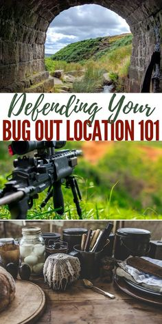 To protect yourself, your family, and your gear, a lot of people are planning on bugging out to a remote location. You need to protect yourself. Survival Food, Camping Survival, Outdoor Survival, Survival Prepping, Emergency Preparedness, Survival Skills, Camping 101, Zombies Survival, Kayak Camping