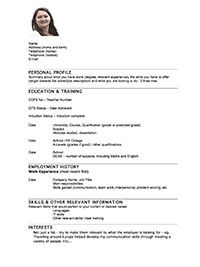 Professional Resume Examples Resume Examples After First Job  Pinterest  Resume Examples